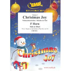 Weihnachtsmelodien Band 1 : für 1-2 Hörner und Klavier (Orgel)