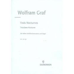 Graf, Wolfram: Nocturne op.158,3 : f├╝r hohes Holzblasinstrument und Orgel