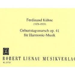 Kühne, Ferdinand: Geburtstagsmarsch op.41 : für Blasorchester Stimmen