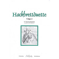 Hackbrettduette Band 2 : für 2 Hackbretter Spielpartitur