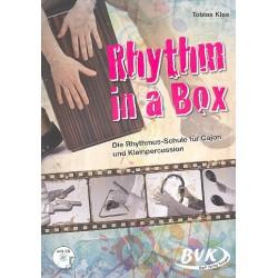 Klee, Tobias: Rhythm in a Box (+CD) : Die Rhythmus-Schule für Cajon und Kleinpercussion