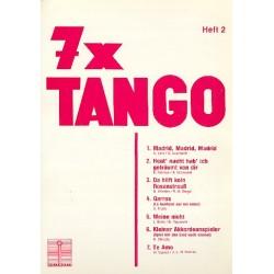 7 x Tango Band 2 : für Gesang und Klavier