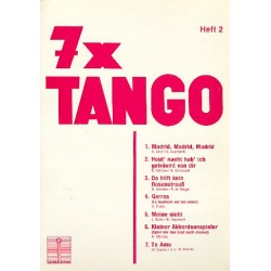 7 x Tango Band 2 : f├╝r Gesang und Klavier