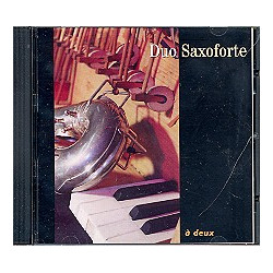 Duo Saxoforte - A deux : CD