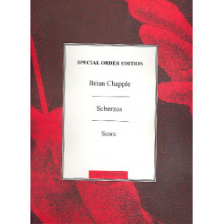 Chapple, Brian: Scherzos : for 4 pianos score archive copy