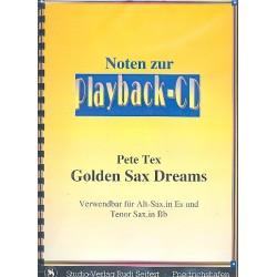 Tex, Pete: Golden Sax Dreams (+CD) : B- und Es-Stimmen