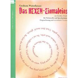 Waterhouse, Graham: Das Hexen-Einmaleins : für Sprecher und Violoncello Spielpartitur (dt)