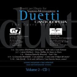 Duets vol.2 (+CD) for soprano, mezzosoprano and piano