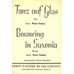 Fischer, Horst: Tanz auf Glas und Bouncing in Saxonia : für Combo