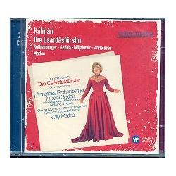 Kálmán, Emmerich: Die Czardasfürstin : CD