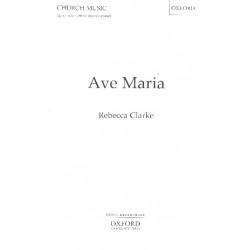 Clarke, Rebecca: Ave Maria : for female chorus a cappella score