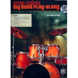 Afro-Cuban Big Band Play-Along (+CD) : for drumset/percussion