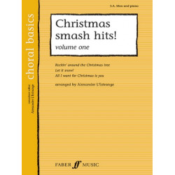 Christmas smash Hits vol.1 : for male chorus and piano score