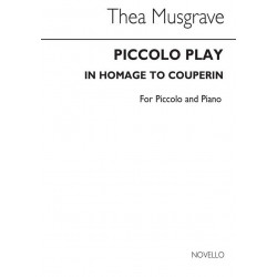 Musgrave, Thea: Piccolo Play : for piccolo and piano