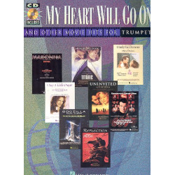 My Heart will go on and other Movie Hits (+CD) : for trumpet