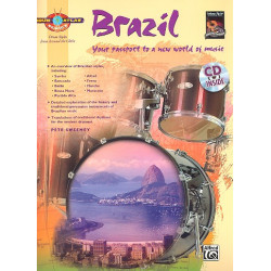 Sweeney, Pete: Drum Atlas - Brazil (+CD) : for drum set