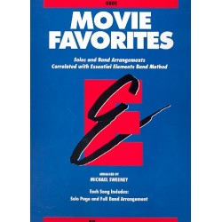 Movie Favorites : for band oboe
