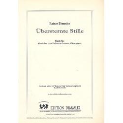 Dimmler, Rainer: Übersternte Stille für Mandoline (Dulcimer), Gitarre, Oktavgitarre