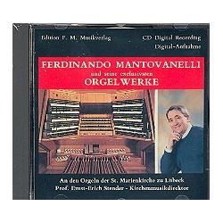 Mantovanelli, Ferdinando: Orgelwerke : CD