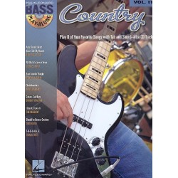 Country (+CD) : guitar playalong vol.11 songbook vocal/bass/tab