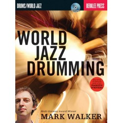World Jazz Drumming (+CD) : for drum