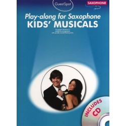 Kids Musicals (+2 CD's) : for saxophone