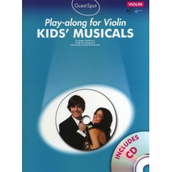 Kids Musicals (+2 CD's) : for violin
