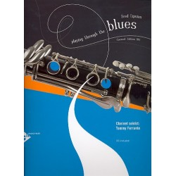 Lipsius, Fred: Playing through the Blues (+CD) : for clarinet