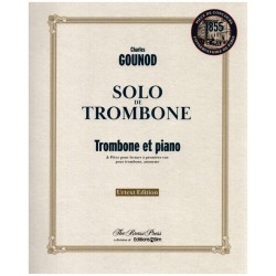 Gounod, Charles Francois: Solo de trombone pour trombone et piano