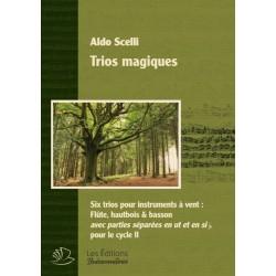 Scelli, Aldo: Trios magiques pour trio à vent