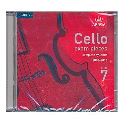Cello Exam Pieces Grade 7 CD complete Syllabus 2010-2015