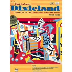 Garson, Michael: Solo Tracks Dixieland (+CD) : Bass / Drums Improvise in the traditional Dixieland style