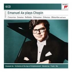 Emanuel Ax plays ChopinSolowerke, Klavierkonzerte, Kammermusik (Sony, 6 CDs, 2017)