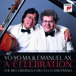 Yo-Yo Ma & Emanuel Ax – A CelebrationWerke von Beethoven, Brahms, Schumann u. a.(Sony, 21 CDs, 2019)