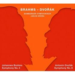 Brahms 3. Sinfonie / Dvorák 8. Sinfonie Bamberger Sinfoniker, Jakub Hruša (2 SACD, Tudor, 2018/19)