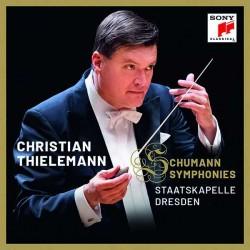 Robert Schumann: Sinfonien Nr. 1-4 Christian Thielemann, Staatskapelle Dresden (2 CDs 2018, Sony)