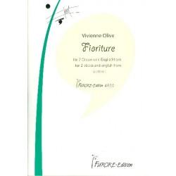 Olive, Vivienne: Fioriture : für 2 Oboen und Englischhorn Partitur und Stimmen
