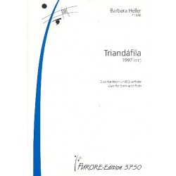 Heller, Barbara: Triandafila : f├╝r Fl├Âte und Horn Spielpartitur
