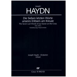 Haydn, Franz Joseph: Die sieben letzten Worte unseres Erlösers am Krueze Hob.XX:2 für Soli, gem Chor und Orchester Klavierauszug