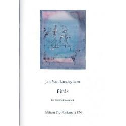 Landeghem, Jan van: Birds : für 4 Blockflöten (S'ino/S, S, T/A/S, BA)