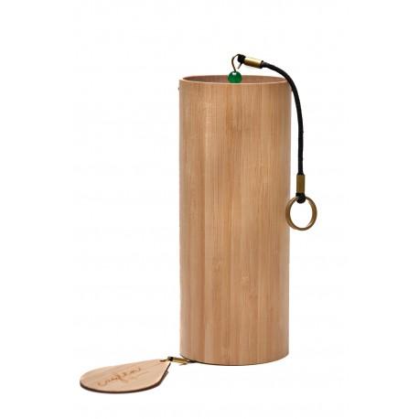 CAYLEN Windspiel 4Seasons WINTER, meisterhaft gefertigtes Klangspiel aus Bambus