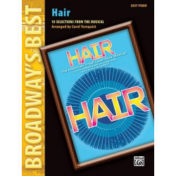 MacDermot, Galt: Hair : 10 Selections from the Musical for easy piano