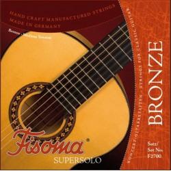 Fisoma Bronze Supersolo Konzertgitarrensaiten SATZ