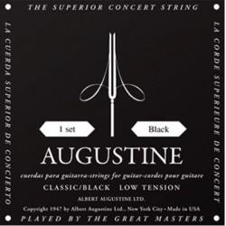 Augustine Black Label Konzertgitarrensaiten - low tension