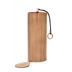 CAYLEN Windspiel 4Seasons AUTUMN, meisterhaft gefertigtes Klangspiel aus Bambus
