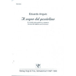 Angulo, Eduardo: Il sogna del pesciolino : Konzert f├╝r Gitarre und Zupforchester Mandola