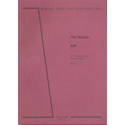 Medek, Tilo: Air : für Vibraphon und Zupforchester Partitur