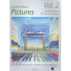 Hellbach, Daniel: Pictures vol.2 (+CD) : für Querflöte und Klavier