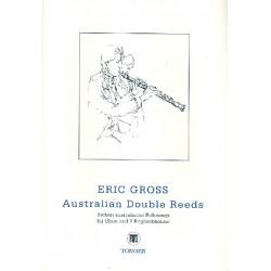 Gross, Eric: Australian Double Reeds op.178 : 7 australische Folksongs für Oboe und 2 Englischhörner