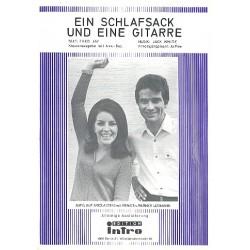 White, Jack (Nußbaum, Horst): Ein Schlafsack und eine Gitarre : Einzelausgabe Gesang und Klavier